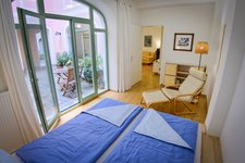 Sleeping room and relax area in appartement CANALETTO