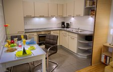 Open fully equipped kitchen - enjoy to cook your own meal