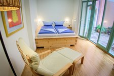 Bedroom in vacation flat CANALETTO