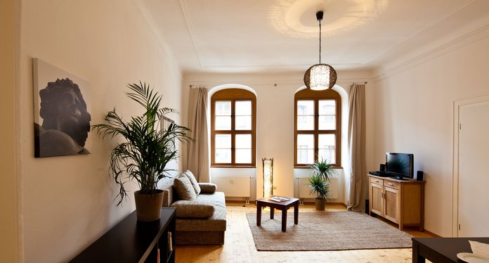 Guest apartment FRIEDRICH in Dresden downtown for 1-4 person inkl. Wi-Fi