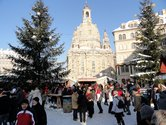 Christmas market on the Dresden Neumarkt