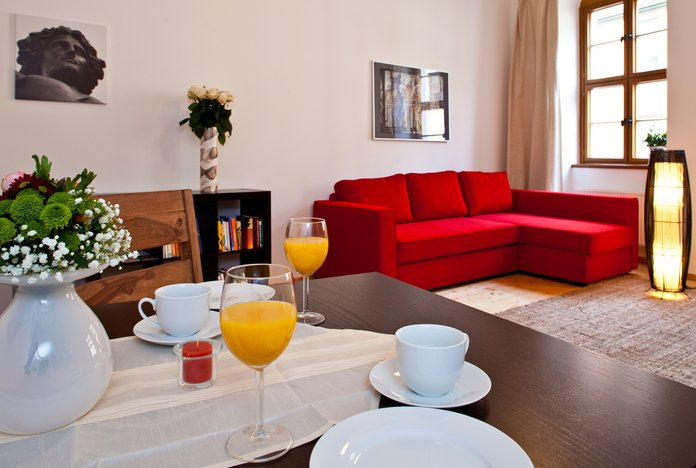 guest apartment CLARA for 1-4 person in Dresden downtown