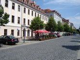The Koenigstrasse in the Baroque District Dresden - one of the best addresses in town